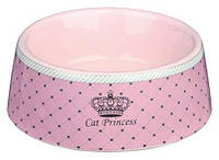 Миска Trixie Cat Princess для кошки, 0.18л