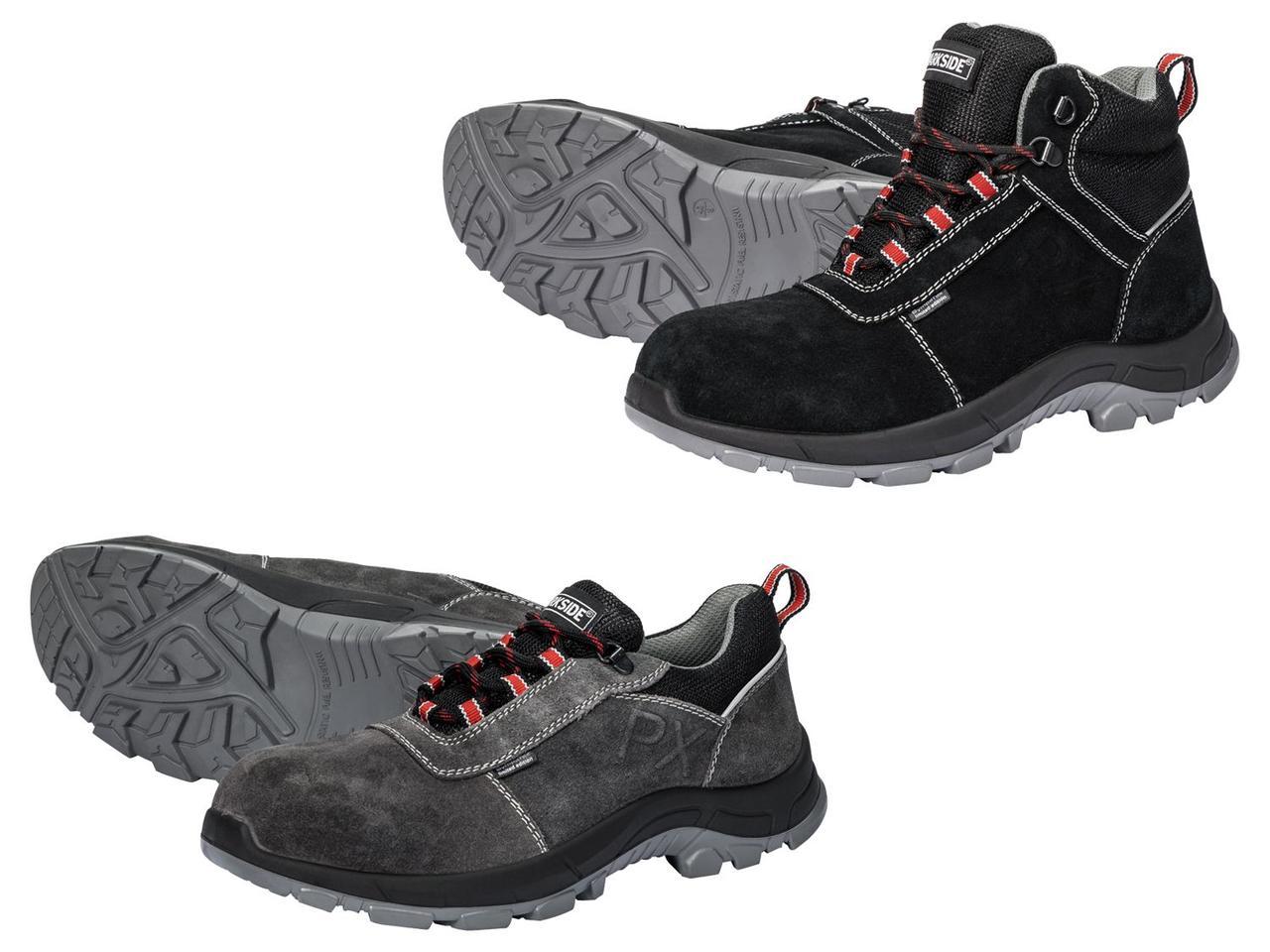 Мужские защитные ботинки PARKSIDE PERFORMANCE (Серые или черные)