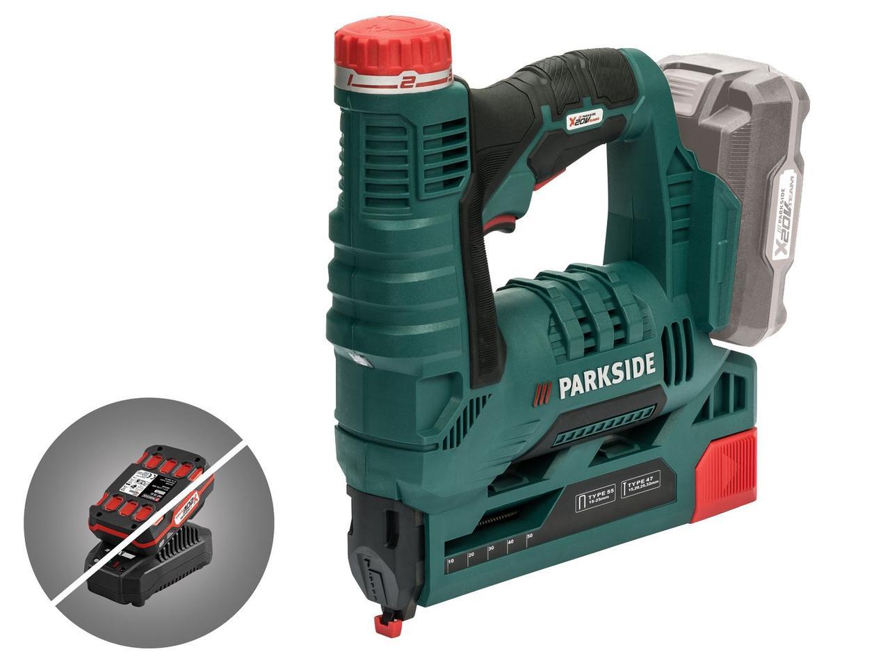 Акумуляторний степлер PARKSIDE PAT 20-Li A1 (Без акумулятора і зарядного пристрою)