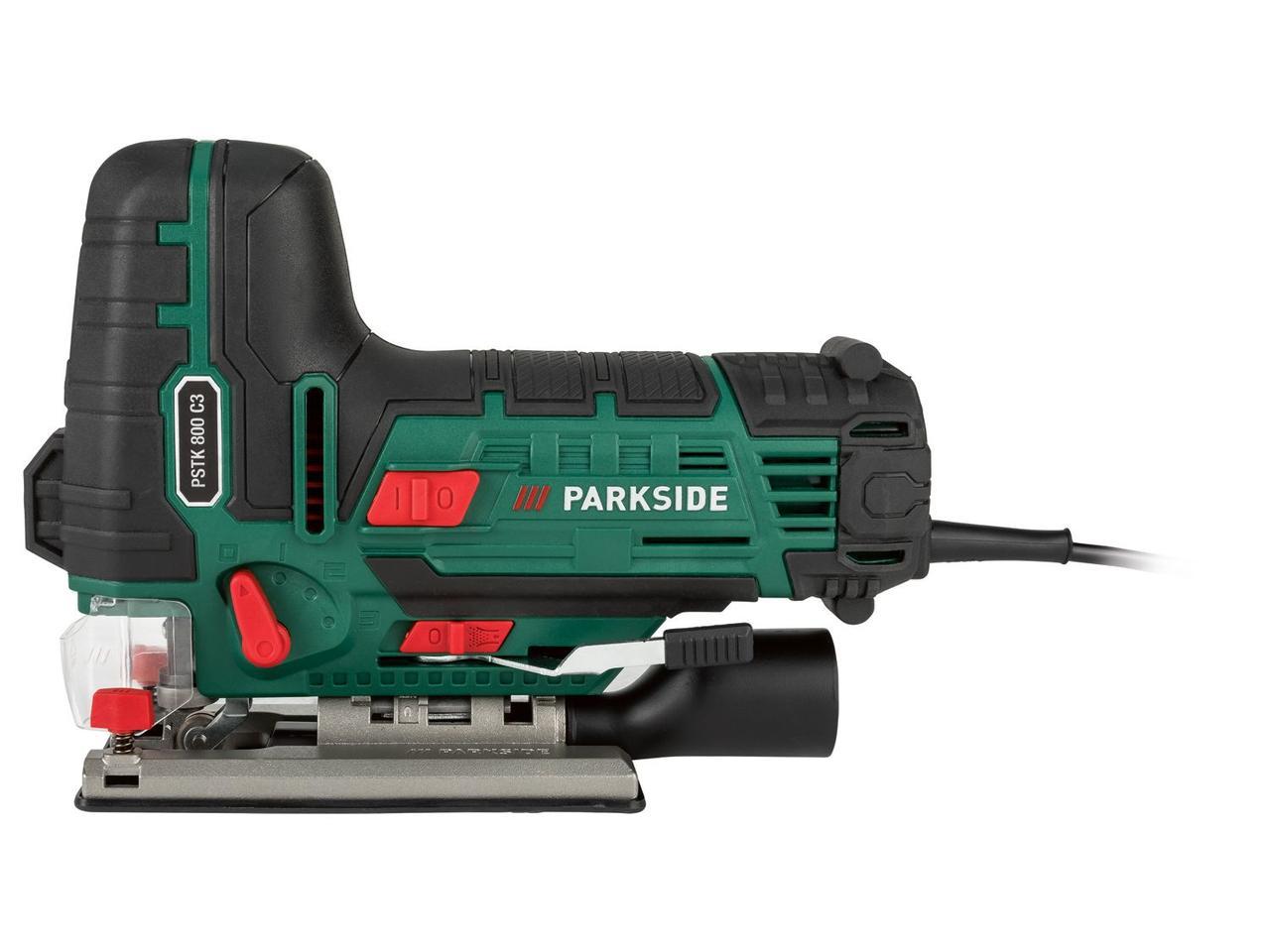 Сетевой маятниковый лобзик PARKSIDE PSTK 800 C3