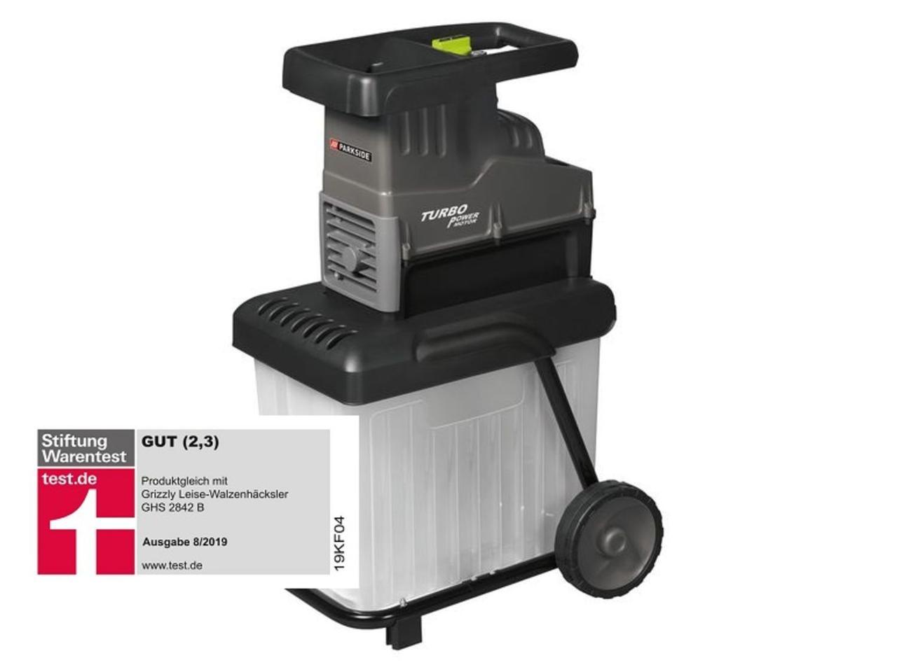 Садовый роликовый измельчитель PARKSIDE PWH 2800 A1 Limited Edition