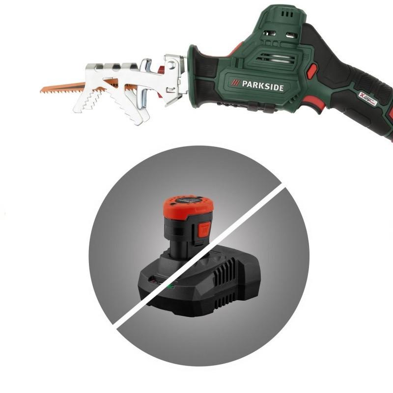 Акумуляторна шабельна пила PARKSIDE PAAS 12 A1 (Без акумулятора і зарядного пристрою)