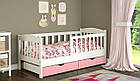Детская кровать с бортиками от 3 лет Ассоль 160*70 см, фото 6