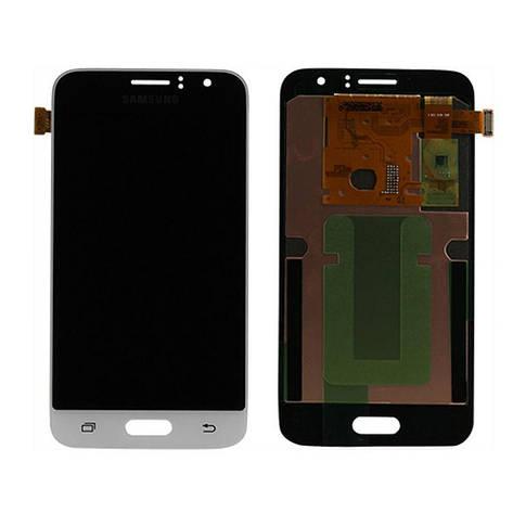 LCD екран+тачскрін Tina Samsung моделі j120, J1 (2016) (TFT), фото 2
