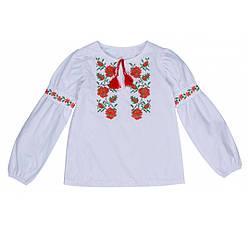 Вышиванка для девочки 1605-20-00 Valeri tex