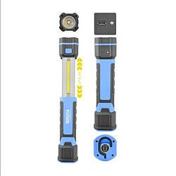 Ліхтар для СТО для полювання для риболовлі світлодіодний Brevia 3W COB+1W LED 300lm 2000mAh (11340)