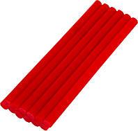 Стержни клеевые 11,2х200 мм, 12 шт, красные MASTERTOOL (42-1158)