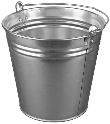 Ведро оцинкованное на 15 литров