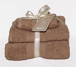 ТМ TAG Набор полотенец Sofia цвет: бежевый
