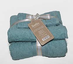 ТМ TAG Набор полотенец Sofia цвет: бирюза
