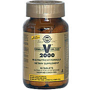 Мультивитаминная Формула, Formula VM-2000, Solgar, 90 Таблеток