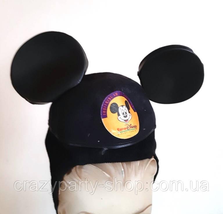 Карнавальная  шапка Микки Мауса детская б/у