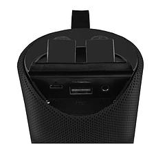 Портативная bluetooth-колонка SPS UBL TG113A, c функцией speakerphone, радио, черная, фото 3