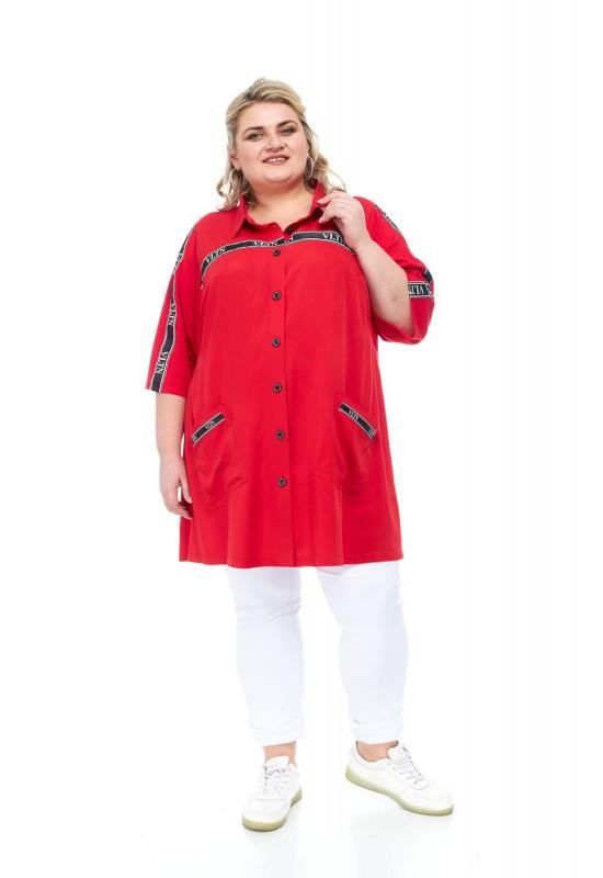 Сорочка жіноча від 64 до 74 великі розміри СУПЕР БАТАЛ