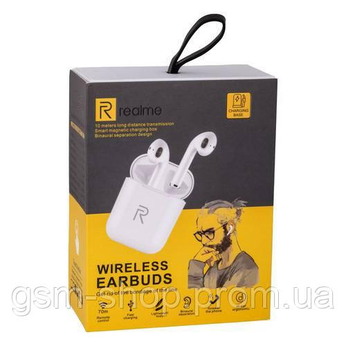 Бездротові Навушники Realme Навушники (Білий)