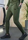 Мужские штаны зауженные цвет хаки / Украина, фото 2
