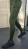 Мужские штаны зауженные цвет хаки / Украина, фото 3