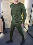 Мужские штаны зауженные цвет хаки / Украина, фото 4