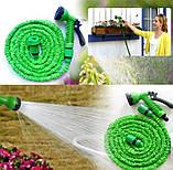Шланг поливочный X-hose для сада 30 м | xhose шланг для полива  с насадкой распылителем 7 режимов, фото 6