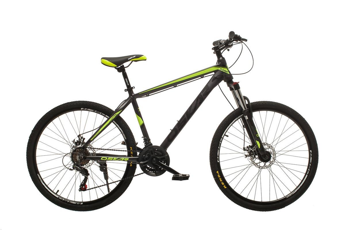 """Велосипед Oskar 26""""M124 серо-желтый (26-m124-gr+ye)"""