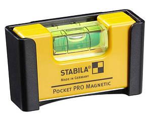 Рівень - міні STABILA Pocket PRO Magnetic магнітний 7 х 2 х 4 см