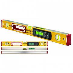 Уровень STABILA Type 196-2 electronic: L = 122 см, 3 капсулы, электронный дисплей определения наклона