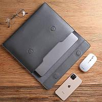 """Чохол - конверт для Ноутбука 15-16"""", Dark grey"""