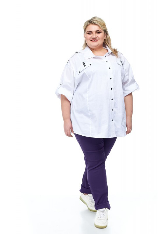 Рубашка женская от 68 до 78 большие размеры СУПЕР БАТАЛ