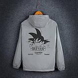 """Светоотражающая куртка-ветровка """"Saiyan"""" размер M, фото 2"""