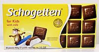 Шоколад с молочной начинкой для детей Schogetten, 100 г