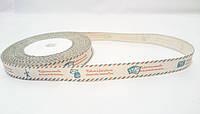 """Лента тканевая """"Handmade"""" 1,5см 25м H1"""