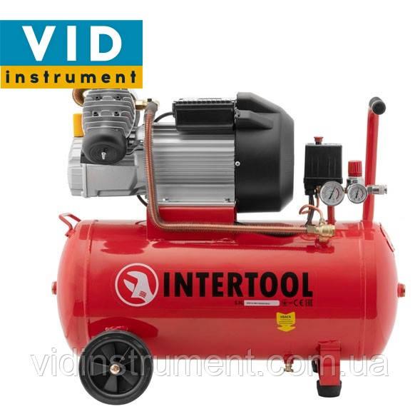 Компрессор Intertool PT-0007 (50л, 420л/мин)