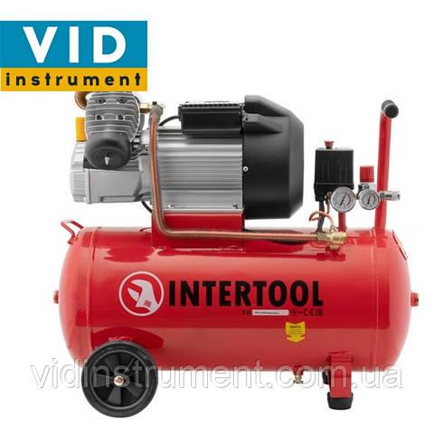 Компрессор Intertool PT-0007 (50л, 420л/мин), фото 2