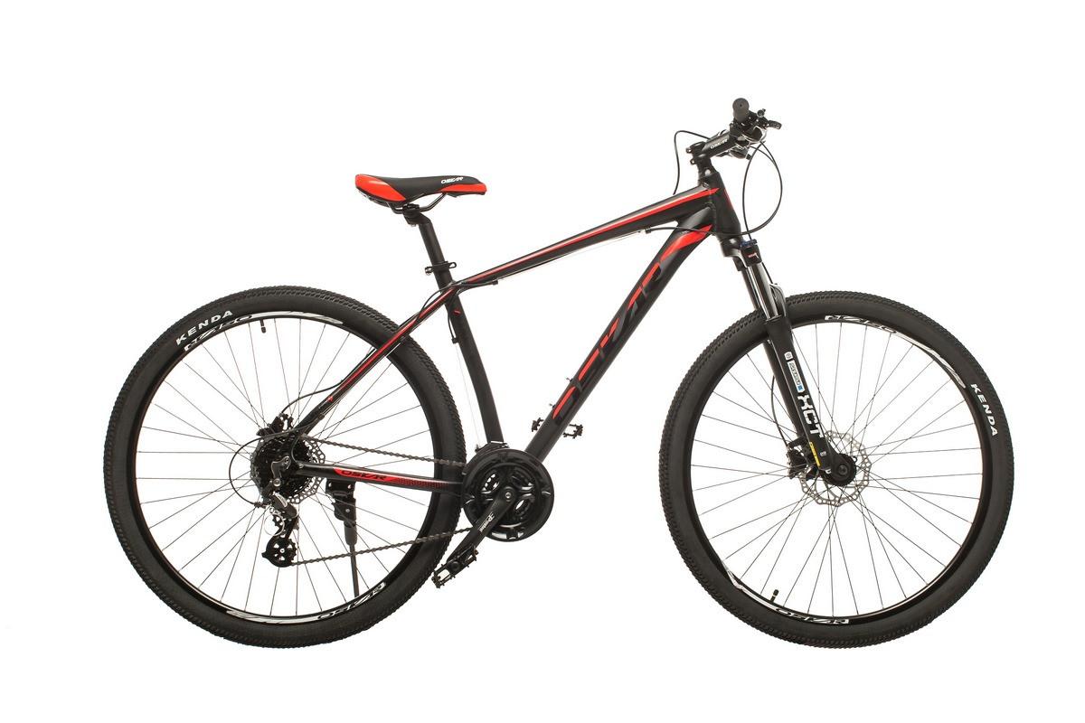 """Велосипед Oskar 29"""" JURA чорно-червоний (29-1806h-rd)"""