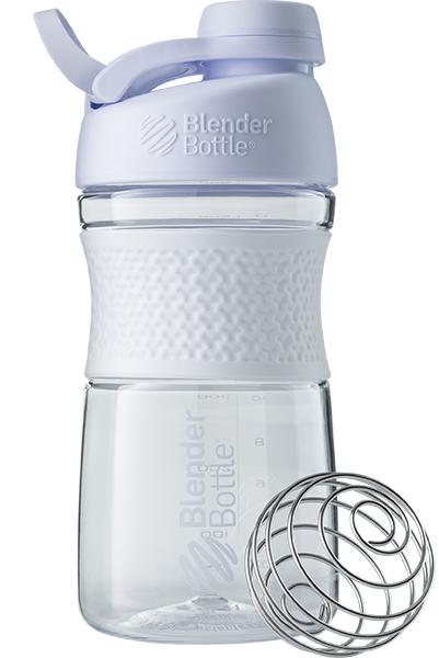 Спортивна пляшка-шейкер BlenderBottle SportMixer Twist 20oz/590ml White (ORIGINAL)