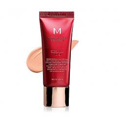 Увлажняющий и матирующий BB крем для лица Missha Perfect Cover BB Cream SPF 42 №21, 20мл