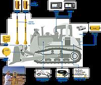 Лазерная Система Trimble 2D на бульдозер