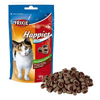 Лакомство для кошек с курицей и сыром Trixie Happies, 50 гр
