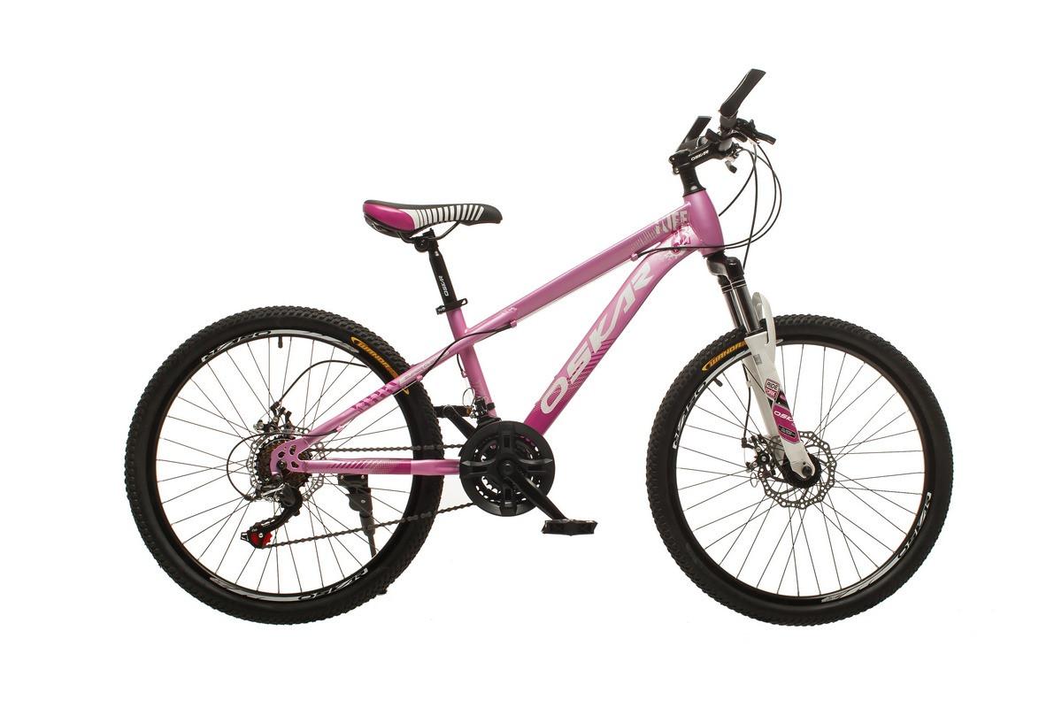 """Велосипед Oskar 24""""M16021 фіолетовий (24-m16021-pu)"""