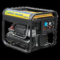 Мобильная рабочая станция Sadko MWS-3000 3 в 1 (генератор, компрессор, сварочный аппарат)