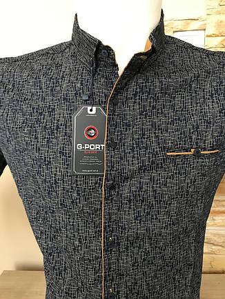 Сорочка короткий рукав G-Port (model*850) з принтом, фото 2