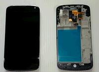 Дисплей (модуль) + тачскрин (сенсор) с рамкой для LG Google Nexus 4 E960