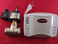 """Газовый Сторож 3/4"""" Метан Угарный с аккумулятором, фото 1"""