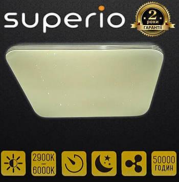 Светильник светодиодный SUPERIO 3000-6000K 50ВТ С Д/У