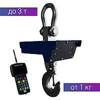 Весы радиоканальные крановые подвесные на 3 тонны 3ВК-РК