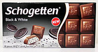 Шоколад  Schogetten молочный с кремовой начинкой и печеньем, 100 г