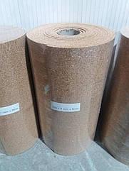 Пробковая подложка 8 мм, 0,5х8м, ТМ Bazalux Eco Mini Roll / Коркова підкладка рулонна