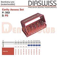 Diaswiss Cavity Access Set # 362 (10 шт) (Діасвіс Швейцарія)