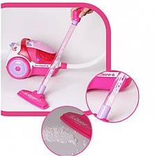 Іграшковий пилосос рожевий Woopie 28804, фото 3
