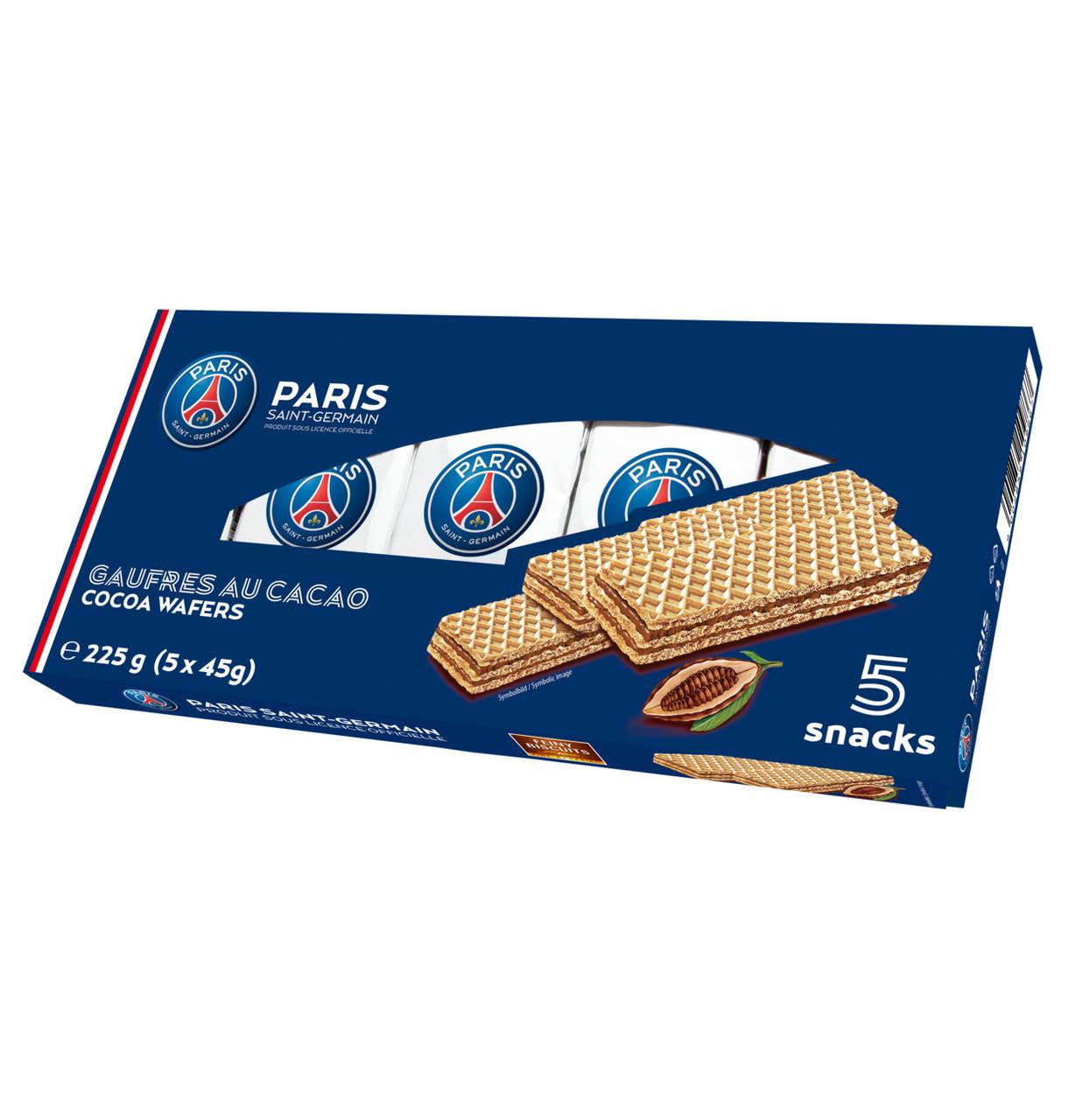 Вафлі PSG Wafers with chocolate cream (5x45г), з шок. кремом 225г, 14шт/ящ